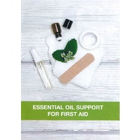 Booklet, Essential Oil Support, For First Aid