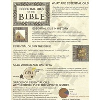 Essential Oils Of The Bible Tearpad, 50 Sheets