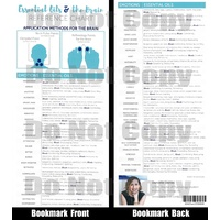 Bookmark, Reference Card, Essential Oils and The Brain, (Single)