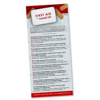 Bookmark, First Aid Rack Card