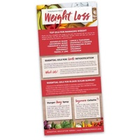 Bookmark, Weight Loss Rack Card