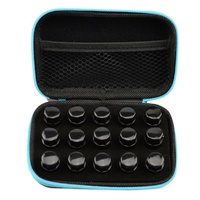 Case, 15 Hole, 1ml, 2ml, 3ml Sample Bottle Storage/Travel
