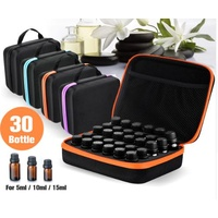 Case, 30 Hole 5ML 10ML 15ML Essential Oil Bottle Storage/Travel