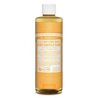 Dr. Bronner's Pure-Castile Liquid Soap - Citrus Orange, 473ml