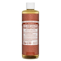 Dr. Bronner's Pure-Castile Liquid Soap - Eucalyptus, 473ml