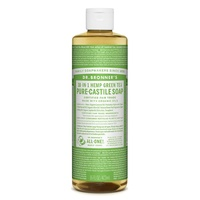 Dr. Bronner's Pure-Castile Liquid Soap - Green Tea, 473ml