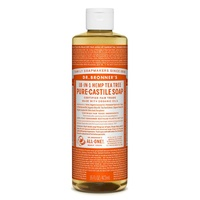 Dr. Bronner's Pure-Castile Liquid Soap - Tea Tree, 473ml
