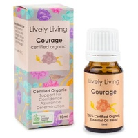Courage, 10ml, 100% Certified Organic Essential Oil Blend