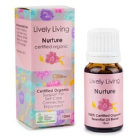 Nurture, 10ml, 100% Certified Organic Essential Oil Blend