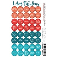 I Am Fabulous Cap Stickers (Sheet of 40)