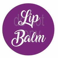 Label, Lipbalm, Purple, 35x35mm