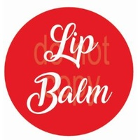 Label, Lipbalm, Red, 35x35mm