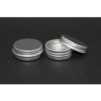 Tin, Lip balm Pot, 15g, Aluminium