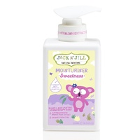 Jack N' Jill Moisturiser, Sweetness, Natural Bath Time, 300ml