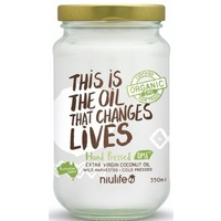 350ml - Niulife Organic Extra Virgin Coconut Oil