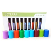Roller Ball Bottle Lids, dōTERRA Touch (Qty 9) Set#1