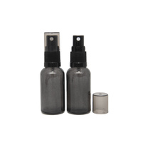 Bottle, Spray, Charcoal, 30ml, Black Plastic Top