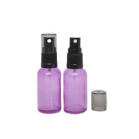 Bottle, Spray, Purple, 30ml, Black Plastic Top