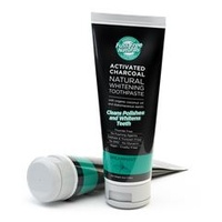 Activated Charcoal Toothpaste, Spearmint, Essenzza Fuss Free Naturals, 113g