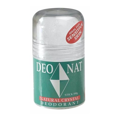 Deodorant Stick, 100g, DEONAT Sports Crystal (ideal for Sensitive Skin)