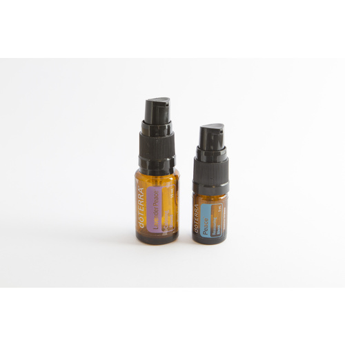 Pump Top with Lid for Essential Oil Bottles