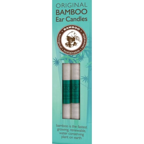 Essenzza Original Bamboo Ear Candles (1 Pair)