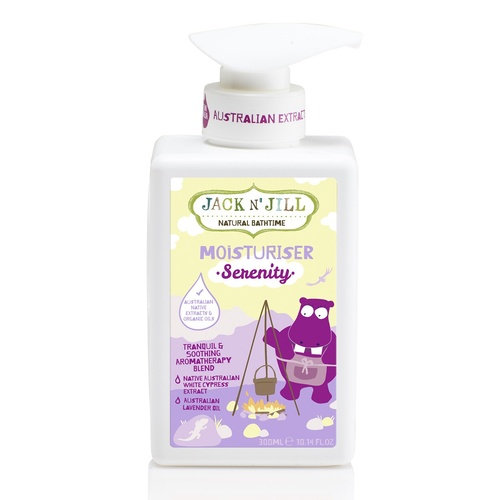 Jack N' Jill Moisturiser, Serenity, Natural Bath Time, 300ml